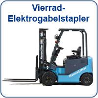 Vierrad-Elektrogabelstapler